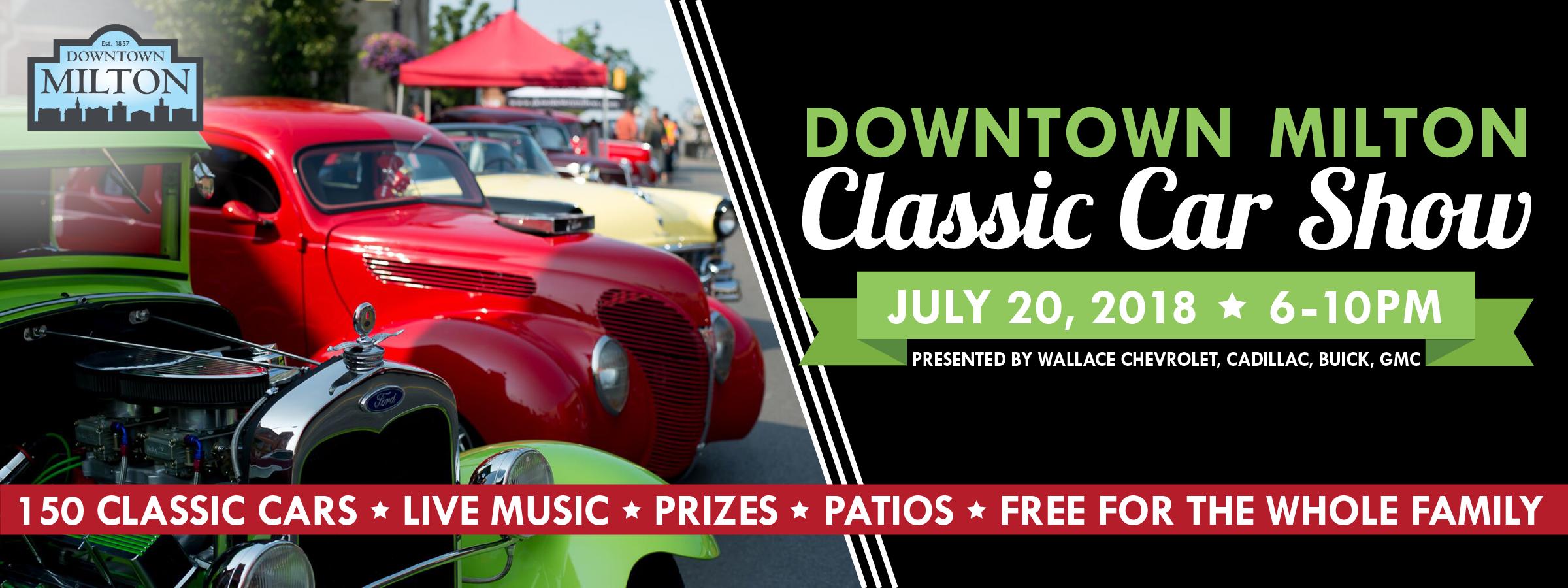 Downtown Milton Classic Car Show Downtown Milton - Car show downtown