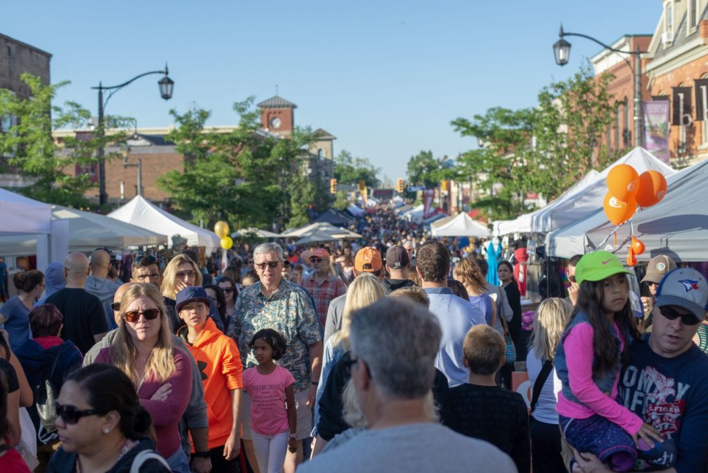 And that's a wrap! The 2018 Downtown Milton Street Festival features free family fun in Downtown Milton