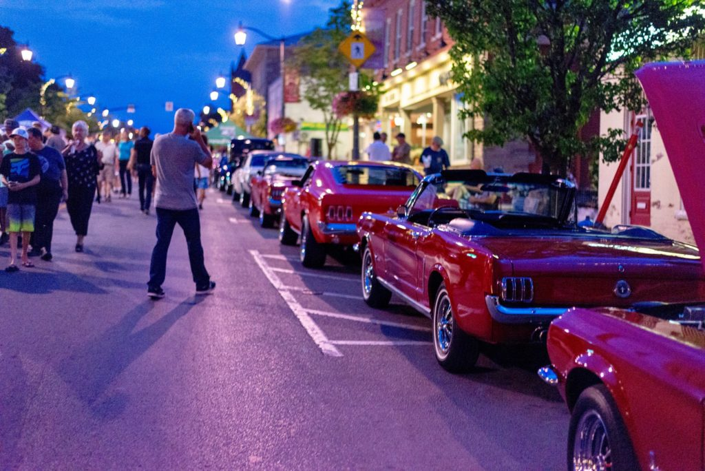 Main Street comes alive for the 2018 Downtown Milton Classic Car Show